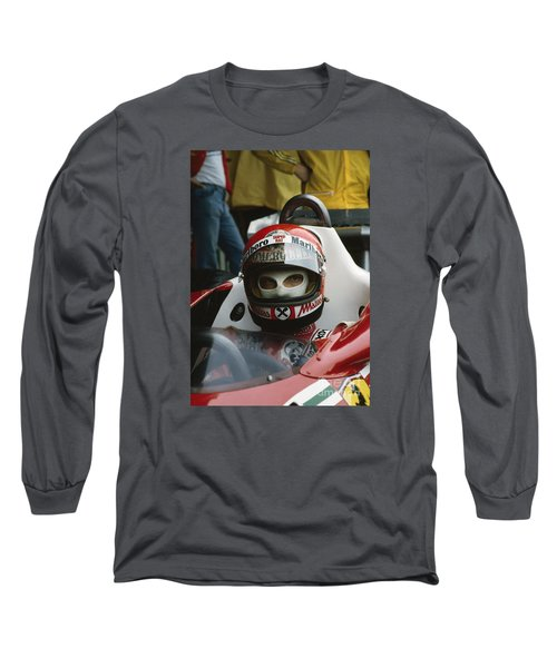 Niki Lauda. 1977 Austrian Grand Prix Long Sleeve T-Shirt