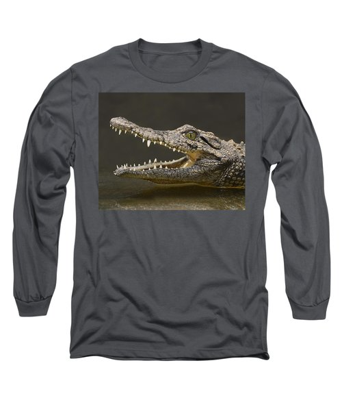 Nile Crocodile Long Sleeve T-Shirt