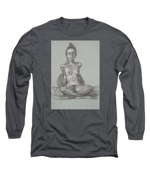 Nina Seated Long Sleeve T-Shirt by Donelli  DiMaria