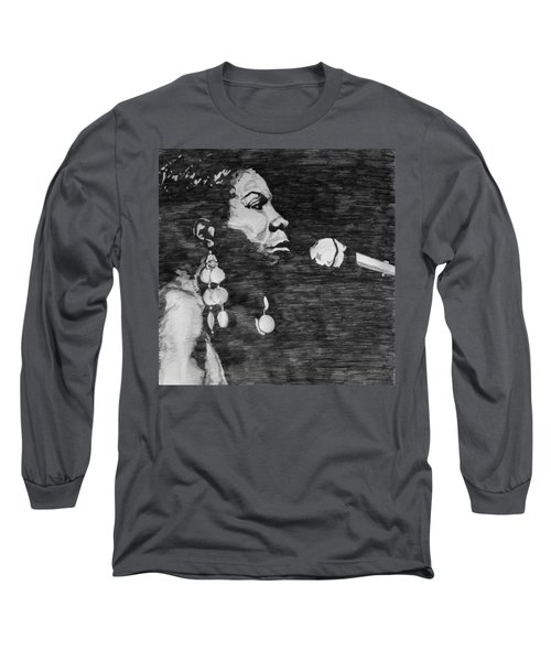 Nina Simone Long Sleeve T-Shirt