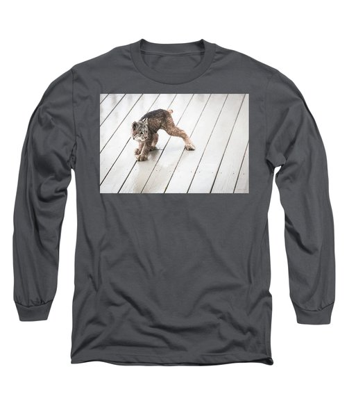 Ninja Lynx Kitty Long Sleeve T-Shirt