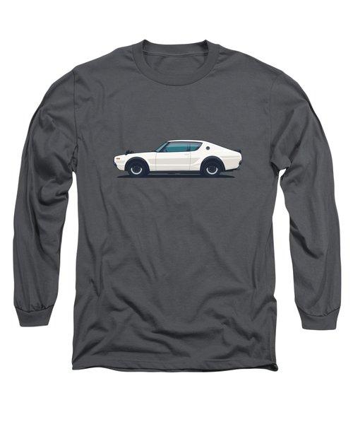Nissan Skyline Gt-r C110 Side - Plain White Long Sleeve T-Shirt