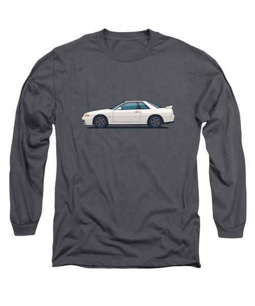 Nissan Skyline R32 Gt-r - Plain White Long Sleeve T-Shirt