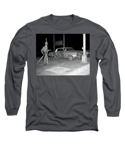 Nj Police Officer Long Sleeve T-Shirt