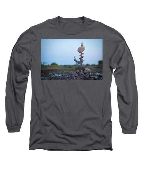 Zen Stack #2 Long Sleeve T-Shirt