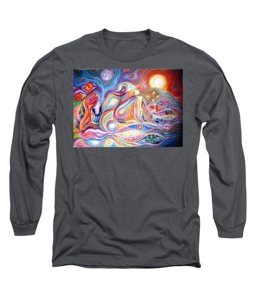 No Pain No Gain Long Sleeve T-Shirt by Bankole Abe