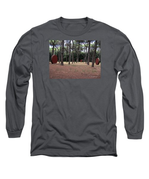 No Title... Long Sleeve T-Shirt by Edgar Torres
