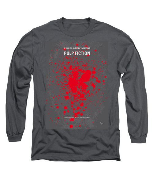 No067 My Pulp Fiction Minimal Movie Poster Long Sleeve T-Shirt