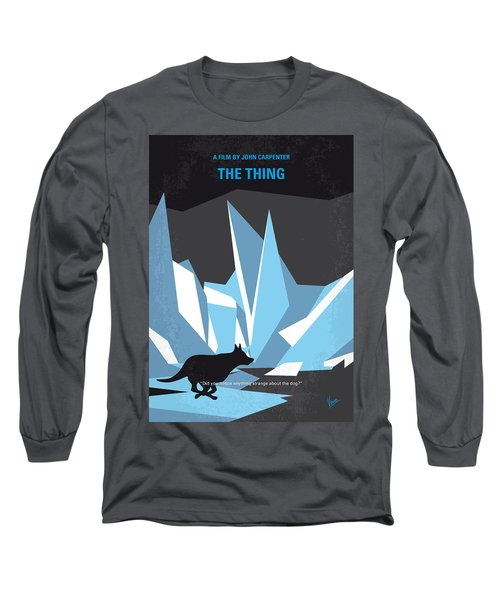 No466 My The Thing Minimal Movie Poster Long Sleeve T-Shirt