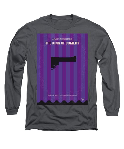 No496 My The King Of Comedy Minimal Movie Poster Long Sleeve T-Shirt