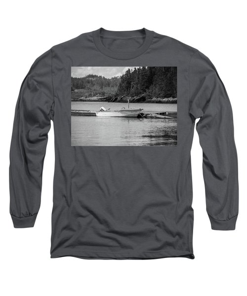 Noca Scotia In Black And White  Long Sleeve T-Shirt by Trace Kittrell