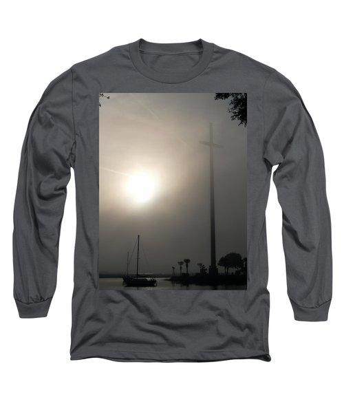 Nombre De Dios - The Great Cross Long Sleeve T-Shirt