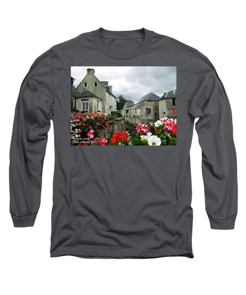 Normandy Arrival Long Sleeve T-Shirt by Joan  Minchak