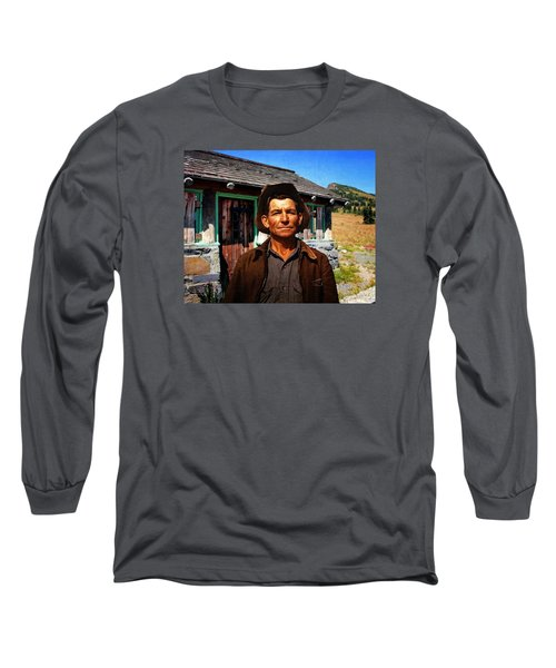 Long Sleeve T-Shirt featuring the photograph Norris' New Digs by Timothy Bulone