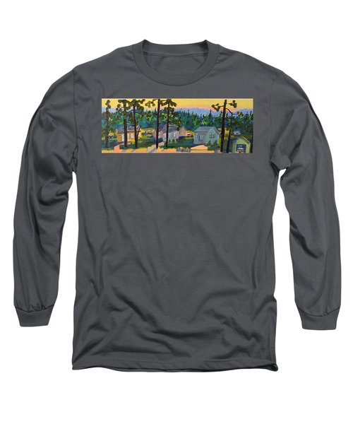 North Shore Long Sleeve T-Shirt by Rodger Ellingson