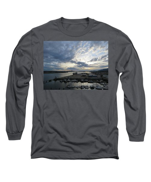 North Vancouver And Vancouver Long Sleeve T-Shirt