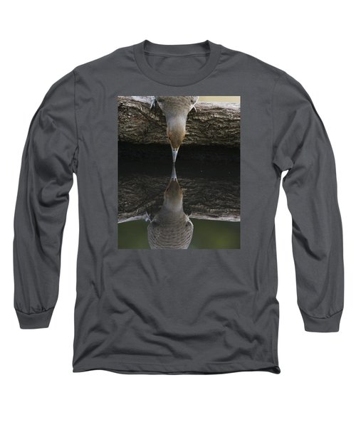 Northern Flicker Long Sleeve T-Shirt by Doug Herr