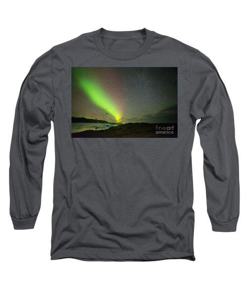Northern Lights 7 Long Sleeve T-Shirt