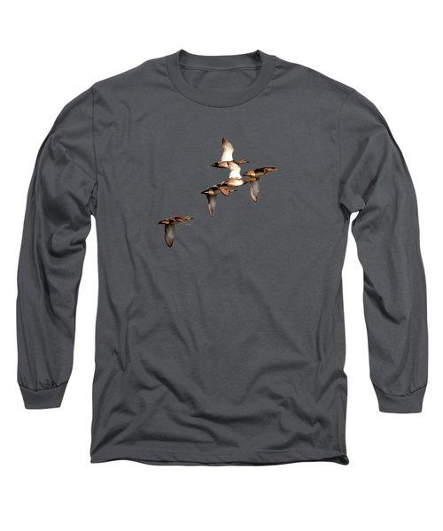 Northern Shoveler Long Sleeve T-Shirt