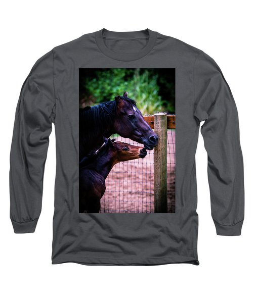 Nose To Nose Long Sleeve T-Shirt
