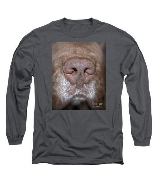 Long Sleeve T-Shirt featuring the photograph Nosey by Debbie Stahre
