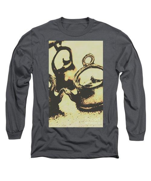 Nostalgic Tea Break Long Sleeve T-Shirt