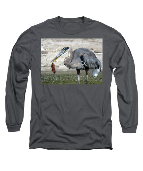 Long Sleeve T-Shirt featuring the photograph Not A Fish by Phyllis Beiser