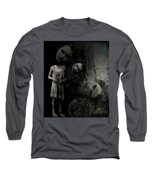 Long Sleeve T-Shirt featuring the digital art Not A Good Day by Delight Worthyn