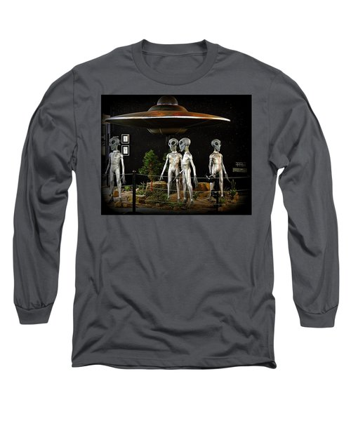 Not Of This Earth Long Sleeve T-Shirt