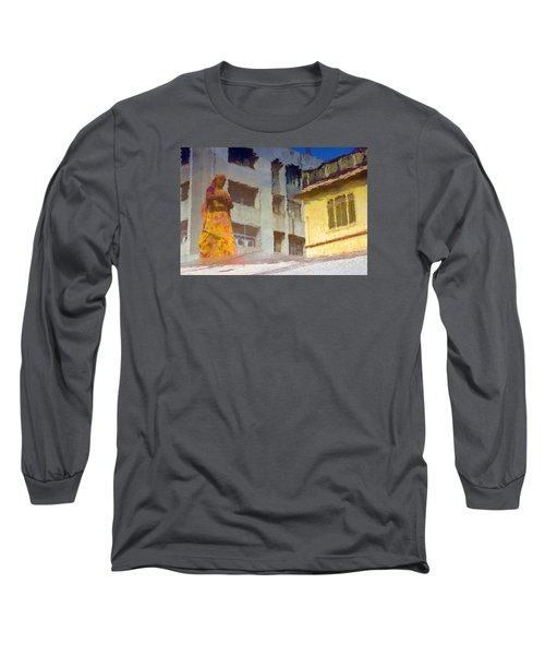 Long Sleeve T-Shirt featuring the photograph Not Sure by Prakash Ghai