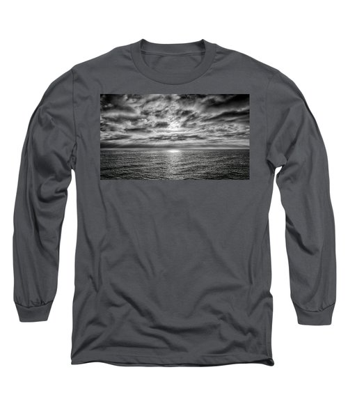 Nothing Something Or All Long Sleeve T-Shirt by Joseph Hollingsworth
