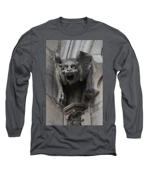 Long Sleeve T-Shirt featuring the photograph Notre Dame 1 by Christopher Kirby