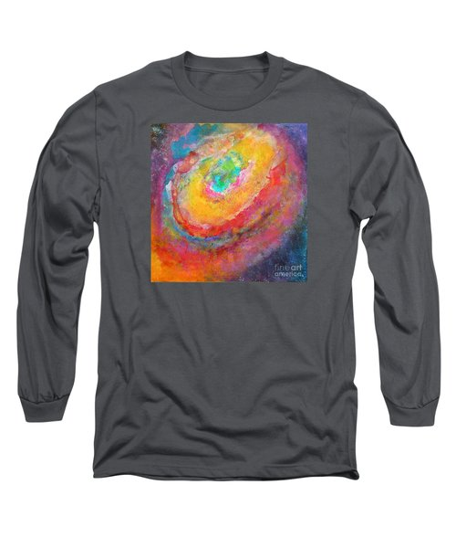 Fantasies In Space Series Painting. Aurora Concerto.  Long Sleeve T-Shirt