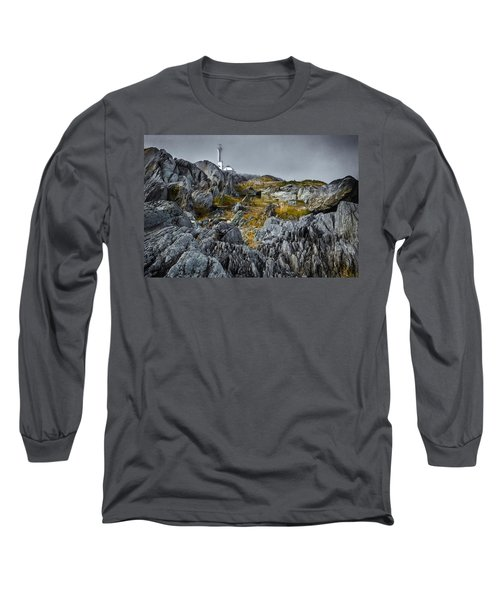 Nova Scotia's Rocky Shore Long Sleeve T-Shirt