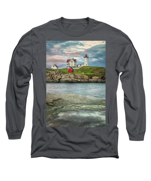 Nubble Light Long Sleeve T-Shirt by Brian Caldwell
