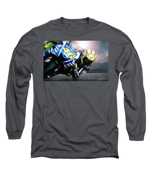 Number 46 Long Sleeve T-Shirt by Bill Stephens