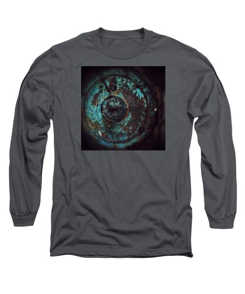 Number 6 Long Sleeve T-Shirt by Olivier Calas