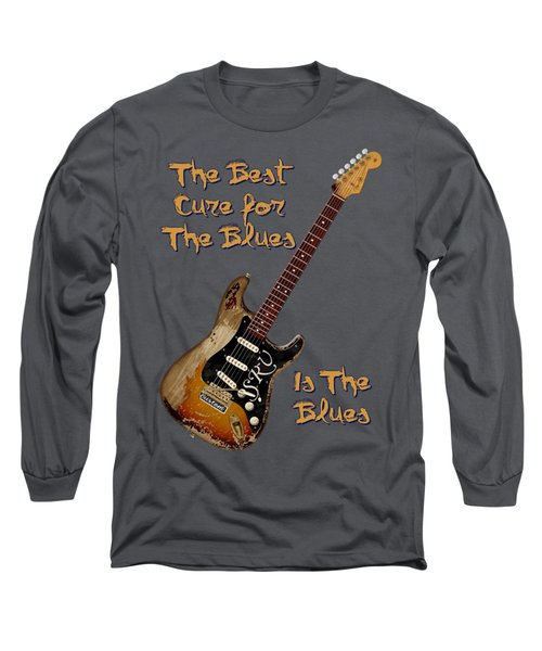 Number One Cure Shirt Long Sleeve T-Shirt by WB Johnston