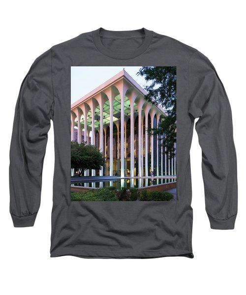 Nwnl Building At Dusk Long Sleeve T-Shirt