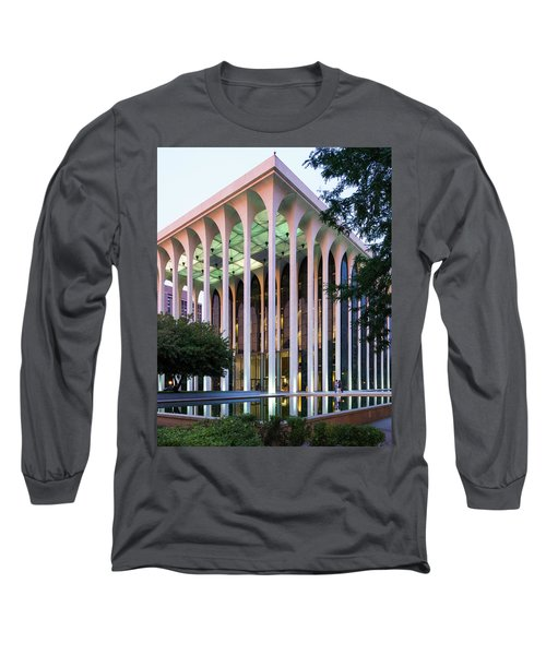Nwnl Building At Dusk Long Sleeve T-Shirt