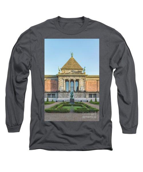Long Sleeve T-Shirt featuring the photograph Ny Carlsberg Glyptotek In Copenhagen by Antony McAulay