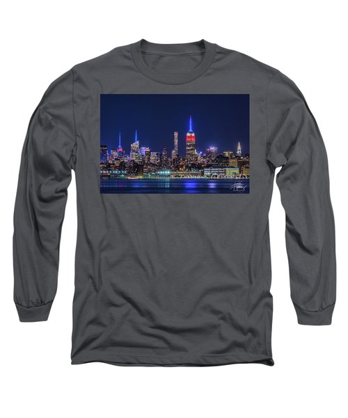 Nyc At The Blue Hour Long Sleeve T-Shirt