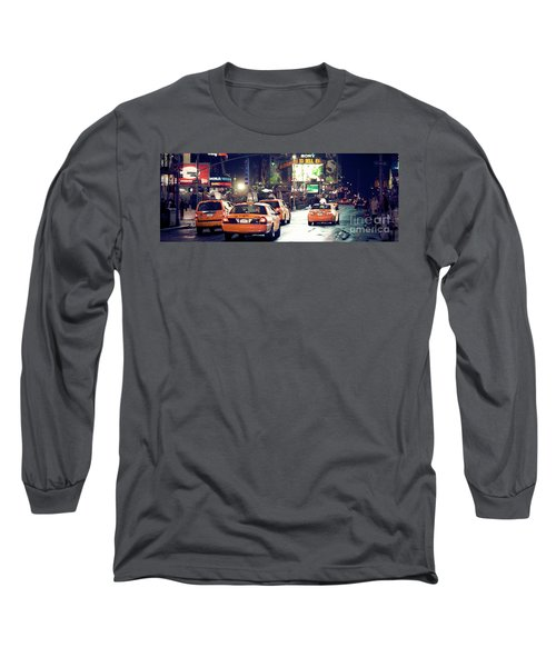 New York City Night Drive Long Sleeve T-Shirt
