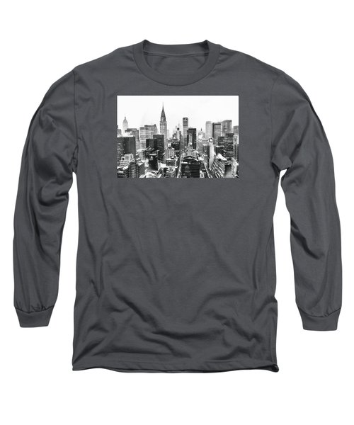 Nyc Snow Long Sleeve T-Shirt