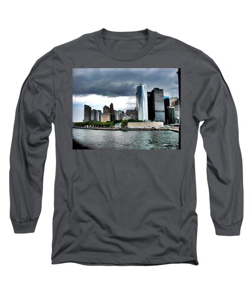 Nyc3 Long Sleeve T-Shirt by Donna Andrews