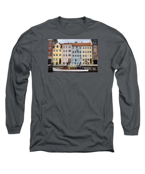 Nyhavn Pastels Long Sleeve T-Shirt