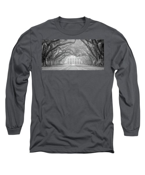 Oak Alley Fog Long Sleeve T-Shirt