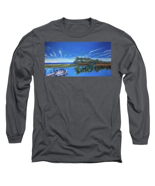 Oak Bluffs With Grady White Long Sleeve T-Shirt