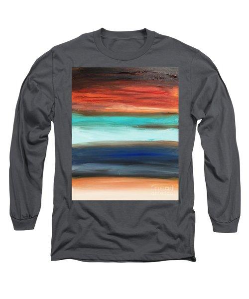 Oak Creek #28 Southwest Landscape Original Fine Art Acrylic On Canvas Long Sleeve T-Shirt