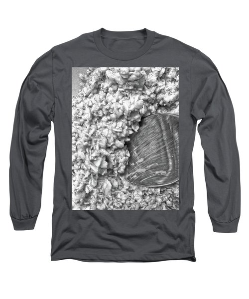 Long Sleeve T-Shirt featuring the photograph Oatmeal by Robert Knight